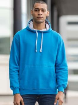 Buy a wonderful, personalised Contrast Hoodie from the PS Clothing online shop