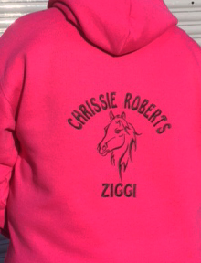 Buy a wonderful, personalised Embroidered PS Hoodie from the PS Clothing online shop