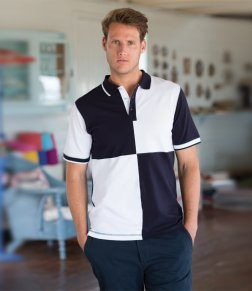 Buy a wonderful, personalised Quartered Polo from the PS Clothing online shop